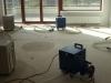 vysoušení podlah po zatečení do izolací 1