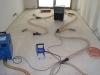 vysoušení podlah po zatečení do izolací 2
