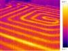 termovizní snímek - vodní podlahové topení 5