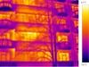 termovizní snímek - bytový dům 5