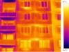 termovizní snímek - bytový dům 2
