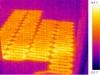 termovizní snímek - elektrické podlahové topení 2