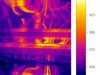 termovizní snímek elektrorozvaděče 3