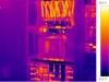 termovizní snímek elektrorozvaděče 1