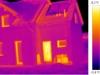termovizní snímek rodinného domu 2