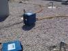vysoušení izolace v konstrukci střech po zatečení 3