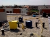 odčerpávání vody a vysoušení izolace v konstrukci střech po zatečení 1