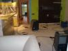 vysoušení izolace v konstrukci podlah po havárii vody 11