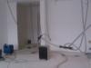 vysoušení izolace v konstrukci podlah a stropu po havárii vody 2