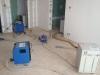 vysoušení izolace v konstrukci podlah po havárii vody 1
