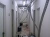 vysoušení izolace ve stropní konstrukci 1